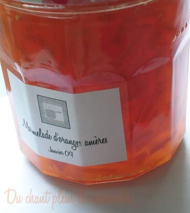 Recette de marmelade d'oranges amères
