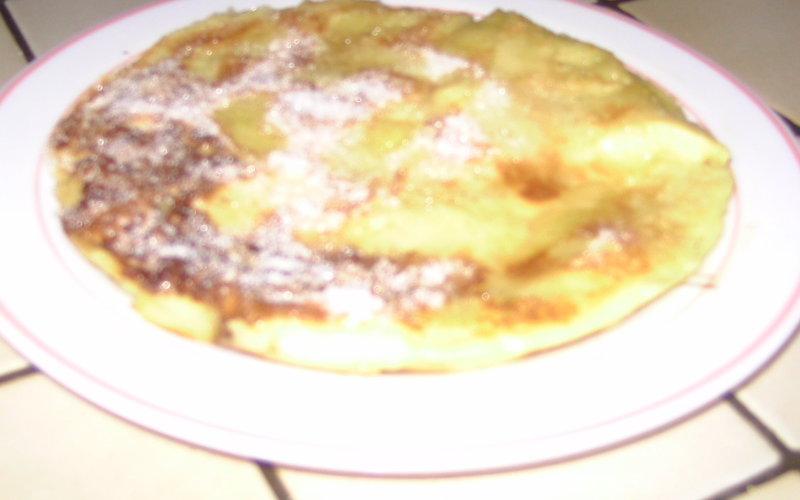 Recette crêpe épaisse aux pommes pas chère et facile > cuisine ...