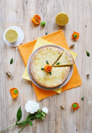 Recette de gâteau citron-amande sans gluten