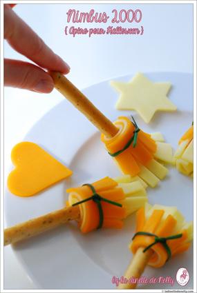 Recette de biscuits apéritifs halloween nimbus 2000 au fromage ...