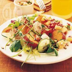 Recette salade de patates douces au poulet – toutes les recettes ...