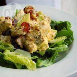 Recette salade de poulet aux fruits et aux noix – toutes les recettes ...