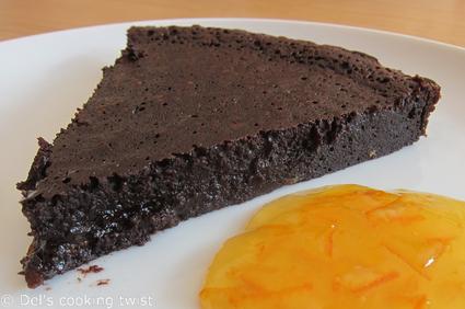 Recette de fondant au chocolat noir à l'orange