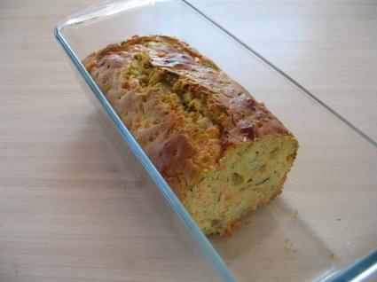 Recette de cake saumon fumé-courgettes