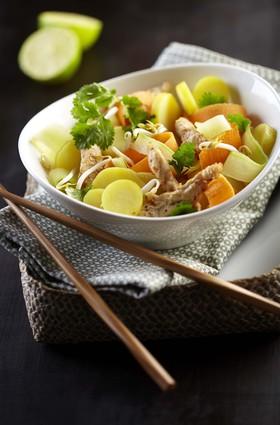 Recette de salade asiatique de pommes de terre ratte du touquet ...