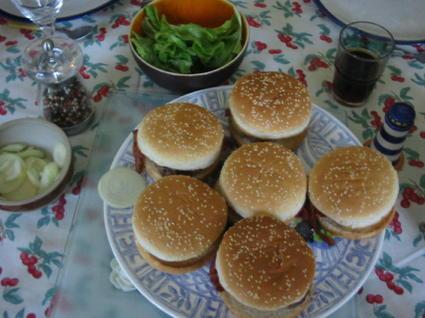 Recette de hamburgers faciles