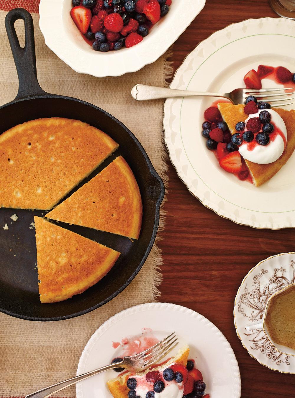 Méga-pancake à partager   ricardo