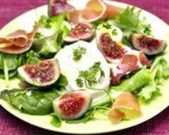 Recette salade de figues et mozzarella