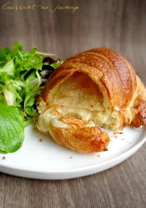 Recette de croissants au fromage