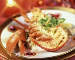 Recette homard grillé de noël