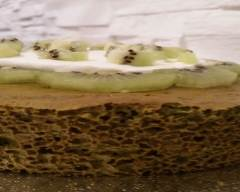 Recette angel cake ou chiffon cake au thé matcha