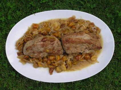 Recette de filet mignon de porc aux mirabelles