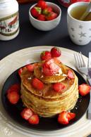Recette de pancakes au lait ribot