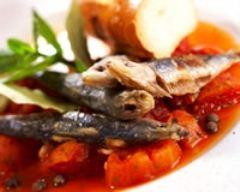 Recette sardines grillées à la grecque