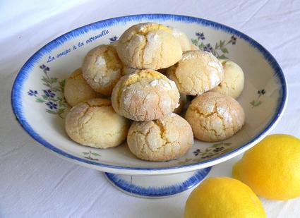 Recette de biscuits tendres au citron (biscotti morbidi al limone)