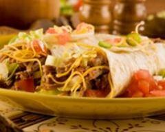 Recette burritos aux haricots sautés