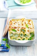 Recette de cannelloni épinards chèvre et pignon