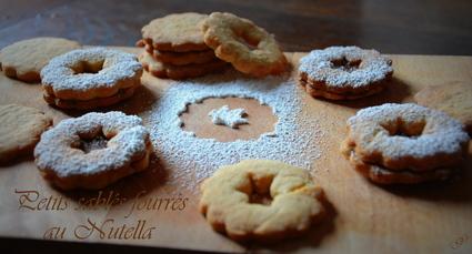 Recette de petits sablés fourrés au nutella