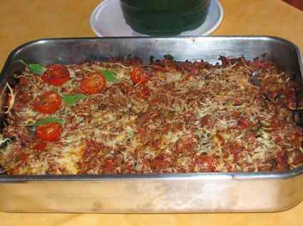 Recette de moussaka d'olivia