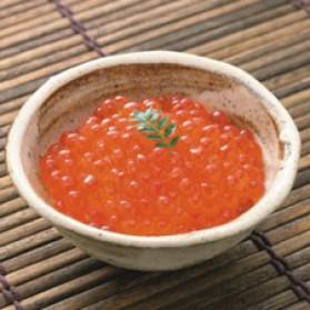 Timbales de riz aux oeufs de saumon pour 6 personnes
