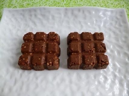Recette de tablettes crues chocolatées aux céréales ...