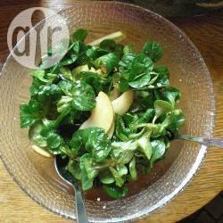 Recette salade de mâche aux pommes et aux noix – toutes les ...