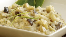 Risotto d'artichauts aux champignons lentins pour 4 personnes ...