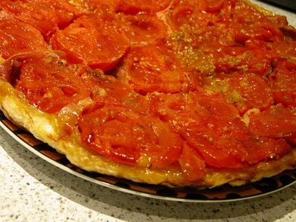 Recette de tatin de tomates à l'italienne
