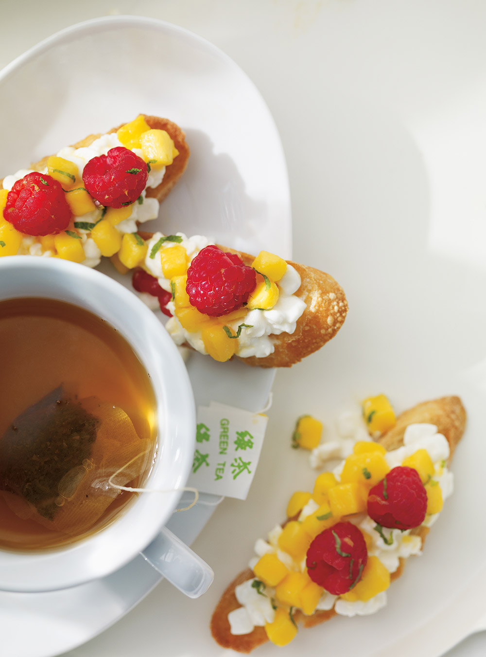 Bruschetta aux fruits | ricardo