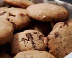 Recette cookies aux trois chocolats
