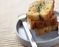 Recette cake au thon aux courgettes et au poivron