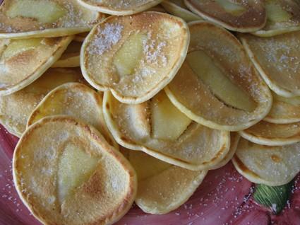 Recette de petites crêpes aux pommes