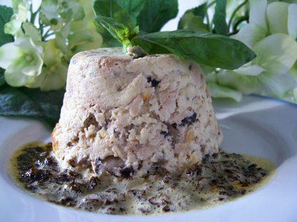 Recette de flans de champignons et beurre de basilic
