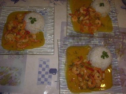 Recette de moqueca de camarao (crevettes)
