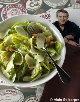 Salade caesar pour 6 personnes
