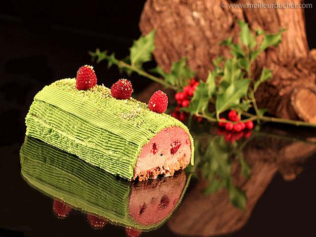 Bûche de noël fraises/framboises  recette de cuisine avec photos ...