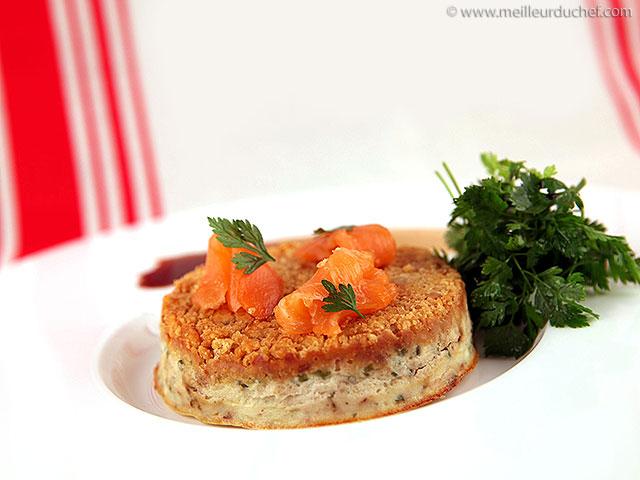 Moelleux façon cheese cake au saumon fumé  notre recette ...