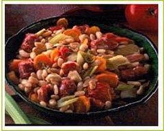 Recette fricassée de coeurs d'artichauts aux fèves