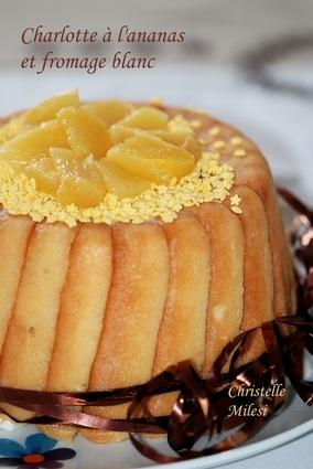 Recette de charlotte à l'ananas et fromage blanc