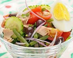 Recette salade niçoise au thon