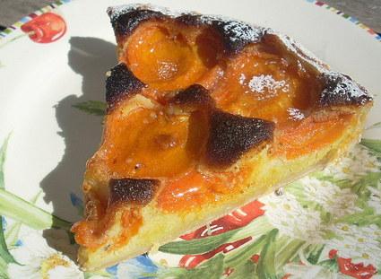 Recette de tarte aux abricots amandine au miel