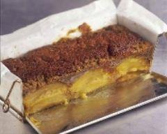 Recette cake au thé à la vanille, pommes et miel