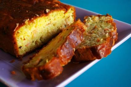 Recette de cake au citron et au saumon