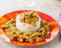Recette curry de dinde au beurre de cacahuètes