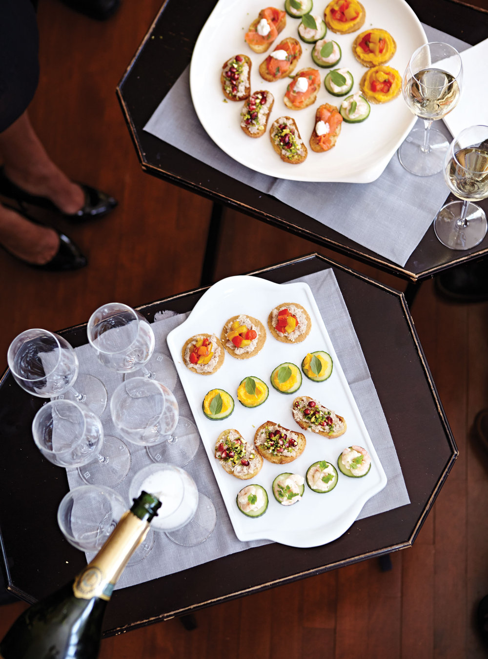 Salade de crevettes nordiques à la lime | ricardo