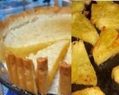 Recette tarte antillaise à l'ananas et à la coco