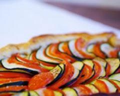 Recette tarte aux légumes du soleil