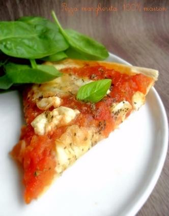 Recette de pizza margherita 100% maison