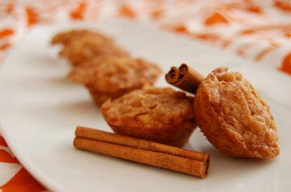 Recette de bouchées fondantes pomme-cannelle