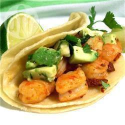 Recette tacos de crevettes aux piments – toutes les recettes ...